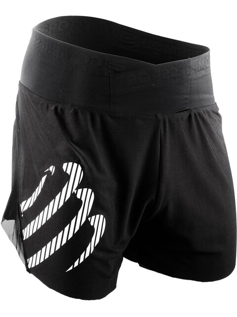 Compressport Racing Overshorts Men Black